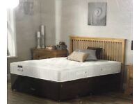 Brand new double orthopedic bed and mattress