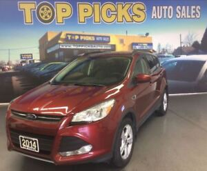 2014 Ford Escape SE, 4X4, NAVIGATION, MY FORD TOUCH, 2.0 LITER!