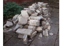 Rockery/Wall stone just removed from a fireplace in 1970s property