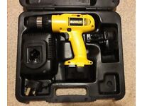 12V CORDLESS DRILL DEWALT DW953 - GREAT USED CONDITION WITH 2 BATTERIES