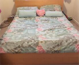 Ikea malm bed inbeech