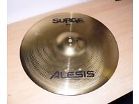 "2x Alesis Surge Dual Zone Ride 16"" Electronic Cymbals Pads ""Real"" electric triggers"