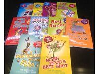Books for Boys set of 10 children's books