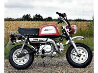 SkyTeam Bongo Monkey Bike 125cc