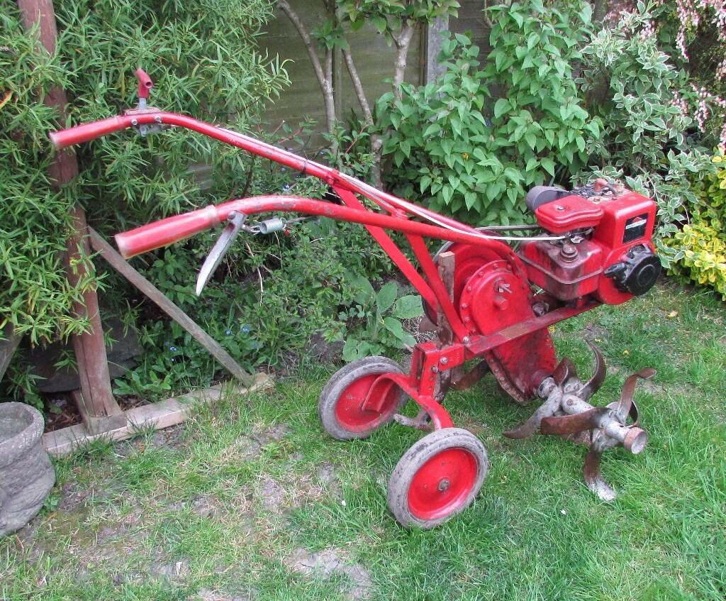 Merry tiller garden rotavator in highbridge somerset for Allotment tools for sale