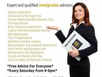 Free Immigration Advice/مفت قانونی مشورہ/मुफ्त कानूनी सलाह