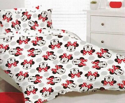 Minnie Mouse Quilt Cover Set | Minnie Mouse Bedding | Disney