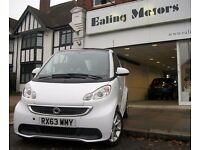 2013 PLATE SMART FORTWO COUPE PASSION,POWER STEERING,SAT NAV,BLUETOOTH,LOW MILES,AIRCON,WARRANTY,CD