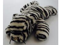Large Ty Beanie Baby Blizzard The Snow Leopard Soft Toy