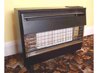 Robinson Willey Firegem Visa 2 gas fire. Black and chrome. As new. Was fitted but never used.