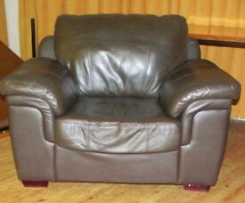 Leather Chair, brown very good condition