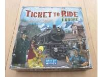 Ticket to Ride: Europe (Board Game)