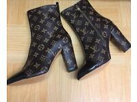 Louis Vuitton Ankle Boots ( Uk 5 / 38 )