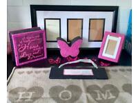 Black & Pink Home Bundle