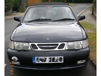 Saab 9-3 2.0 Turbo SE Automatic Cabriolet, full service history, low mileage