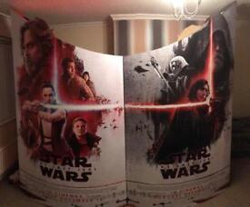 Huge Star Wars The Last Jedi cutouts