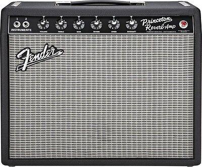 Fender '65 Princeton Reverb 15W 1x10 Tube Combo Amp Demo