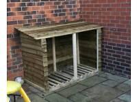 Log hut