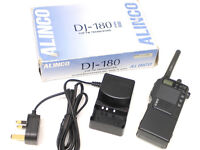 ALINCO DJ-180, VHF FM AMATEUR TRANSCEIVER, EXTENDED RX & TX, BOXED