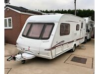 2006 Swift Accord 520 4 Berth Touring Caravan with Motor Mover
