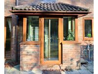 Anglian Golden Oak Double Glazing