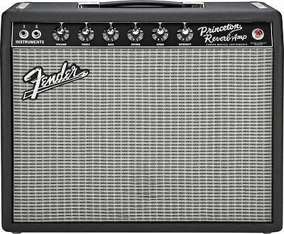 Fender '65 Princeton Reverb 15W 1x10 Tube Combo Amp Demo