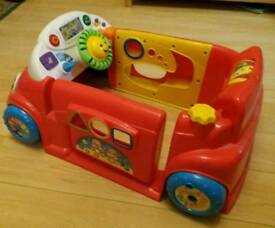 Fisher-Price Laugh & Learn Crawl-a-Round Car