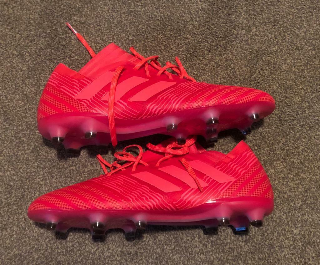 2bb4b5fd2e02 New Adidas Nemeziz 17.1 Firm Ground Mens Football Boots