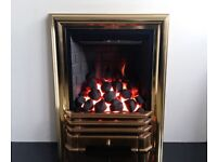 Be Modern Deepline 580 Deluxe (Brass) Inset Gas Fire