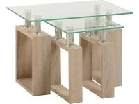 New Sonoma Milan Glass Nest of Tables only £59 get yours today