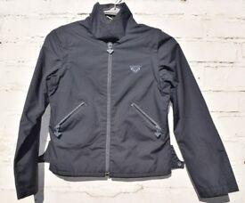 """Quiksilver 12 Ladies Grey Reversible Summer Jacket + Zip Off Sleeve Waistcoat C34"""""""