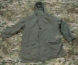 Vintage French Army Cold weather Parka (with pile/fleece liner) Size Large