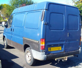Ford Transit. New MOT. Big and cheap.