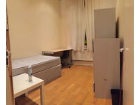 Nice single room is available now in clean house, 5min walk to Station ** no extra **