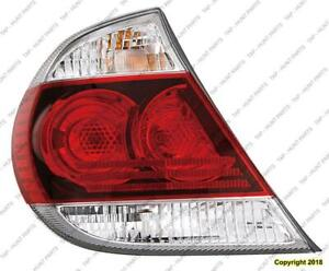 Tail Light Driver Side Se Model Usa Built Toyota Camry 2005-2006