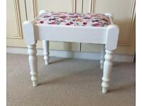 Traditional Bedroom / Dressing Table Stool, Shabby Chic, Country Style.