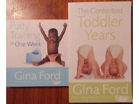 Gina Ford Books - Potty Training in One Week & The Contented Toddler Years