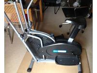 exercise bike stepper pro fitness