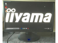 22 inch iiyama Prolite 82280HS LED Full HD HDMI VGA DVI computer Screen Monitor with speakers