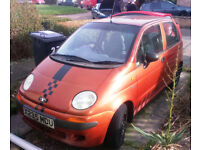 Xreg Daewoo Matiz for repair