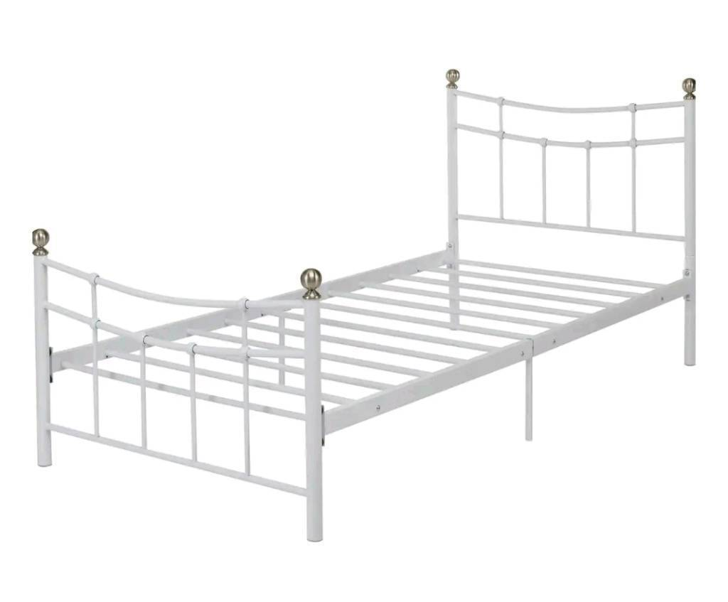 Single metal bed frame with mattress | in Lisburn, County Antrim ...
