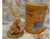piggin lottery collectable with tin