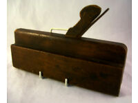 Collectable Vintage Wooden Rebate Plane VGC (WH_2222)