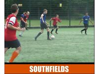 Find and play football in Southfields, play football in Earlsfield, play football in Wandsworth