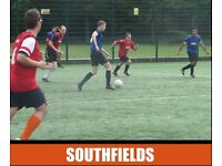 Play football in Southfields, find football in Southfields, Earlsfield football, play football
