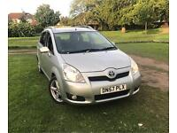 For sale my Toyota corolla verso tspirit 2.2 D4d diesel start/stop 7 Seater Manual 6 speed