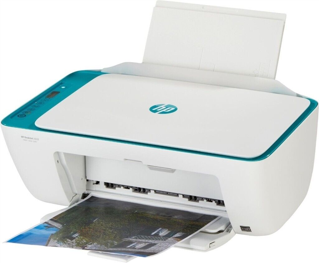 HP Deskjet 2600 All-in-One Printer with all cables | in ...