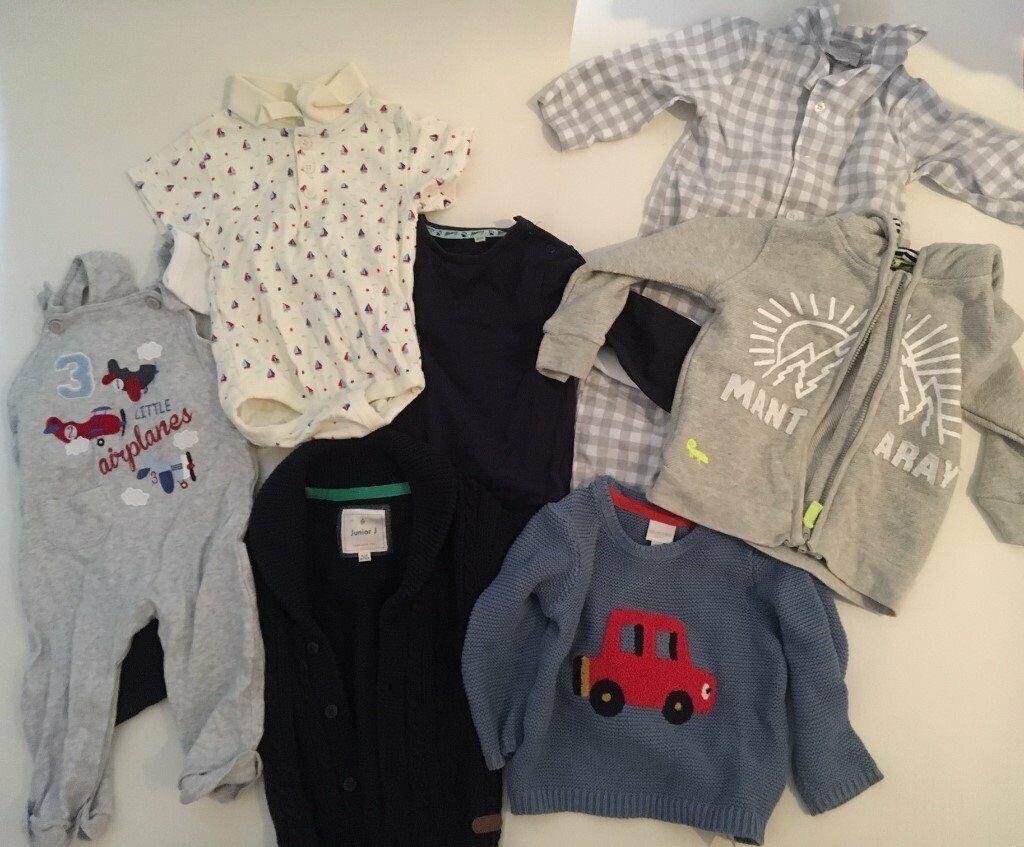 e97f4e7329c3 Item 35  Boys clothes bundle size  9-12 months