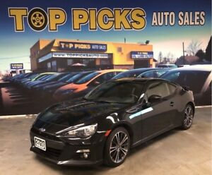 2016 Subaru BRZ Sport-Tech, One Owner, Accident Free, Low Kms!