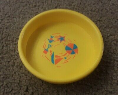 Vintage Fisher Price Little People Round Yellow Swimming Pool 726/909 VHTF NICE